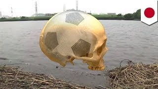 getlinkyoutube.com-サッカーボールか...実は頭蓋骨