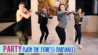 getlinkyoutube.com-Chris Brown - Party ft. Gucci Mane, Usher (feat. The Fitness Marshall) | Dance Fitness with Jessica