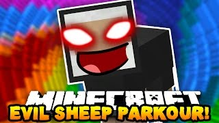 getlinkyoutube.com-Minecraft EVIL SHEEP PARKOUR! (KILL THE EVIL SHEEP BOSS!!) | w/ PrestonPlayz & Tyler