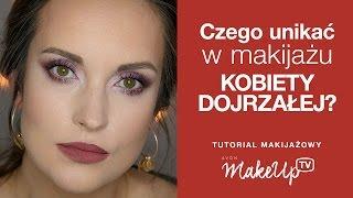getlinkyoutube.com-Czego unikać w makijażu kobiety dojrzałej -  Hania