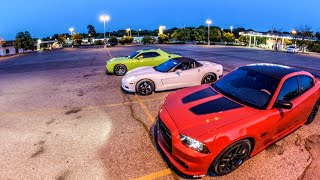 getlinkyoutube.com-2015 Challenger SRT Vs 2014 Charger SRT go at it AGAIN!! with a Police Chase!!