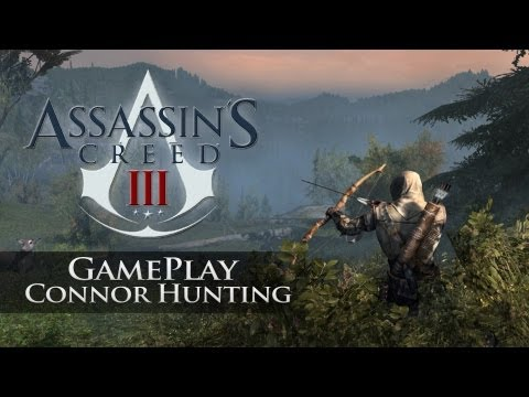 Assassins Creed 3 - Gameplay - Connor Hunting Deer & Wolves