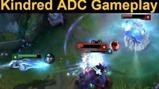 getlinkyoutube.com-Kindred ADC Gameplay - Kindred in the Bot Lane