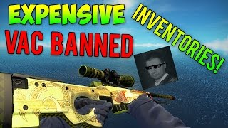 getlinkyoutube.com-CS:GO - Expensive VAC Banned Inventories