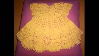 getlinkyoutube.com-Вязание крючком для детей платья