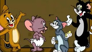 getlinkyoutube.com-Tom and Jerry Vintage Car - Tom and Jerry Cartoon games for Kids - [ full episode hd ]