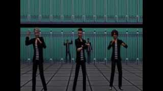getlinkyoutube.com-One direction - Kiss you PARODY / REMAKE sims3