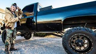 getlinkyoutube.com-Got My Truck ILLEGALLY Tinted...