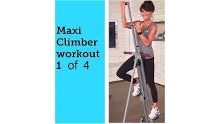 getlinkyoutube.com-Maxi Climber Rosalie Brown 20 Minute Workout 1 of 2