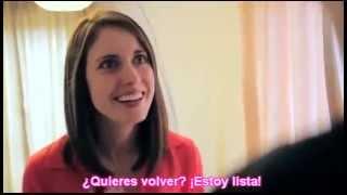 getlinkyoutube.com-TERMINANDO CON LA NOVIA PSICOPATA Y OBSESIONADA #2 (MEME)