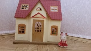getlinkyoutube.com-Обзор набора Sylvanian Families Дом Марии( Cozy Cottage Starter Home)