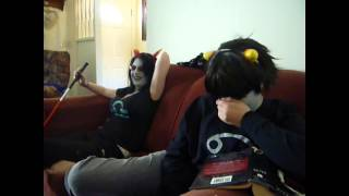 getlinkyoutube.com-Day in the life of Terezi Karkat and Sollux