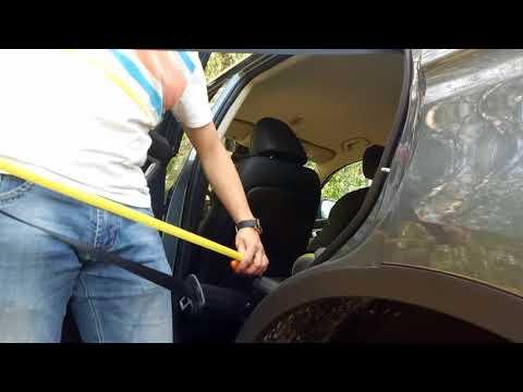 Geely Atlas. Задние ремни безопасности. Замер длины и советы по выбору автокресла