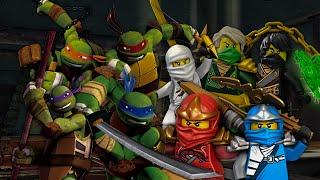getlinkyoutube.com-Teenage Mutant Ninja Turtles vs Ninjago. Epic Rap Battles of Cartoons Season 2.