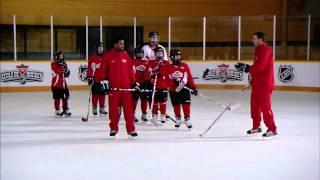 getlinkyoutube.com-NHL Skills: Starts From Canadian Tire Hockey School