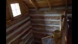 getlinkyoutube.com-must see off grid log cabin