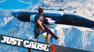 getlinkyoutube.com-MOST EPIC PLANE CRASH EVER :: Just Cause 3 Epic Stunts