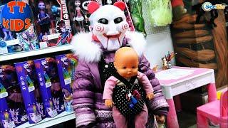 getlinkyoutube.com-✔ Кукла Ненуко и Сюрприз от Ярославы в магазине Игрушек. Nenuco Doll and A Surprise from Yaroslava