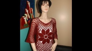 getlinkyoutube.com-Crochet Blusa