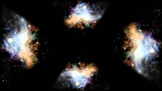 getlinkyoutube.com-Hubble Space Images, Holographic Animation For Use With HoloQuad Pyramid Hologram MMD