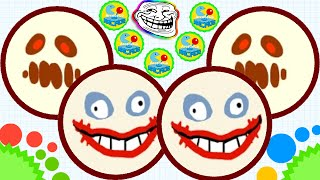 getlinkyoutube.com-Agario Mobile Best Way Of Trolling Part 5 Premium Crazy Monster Skin Agar.io  Funny Moments