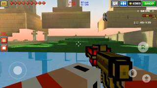 getlinkyoutube.com-Pixel Gun 3D: Heaven garden house glitch