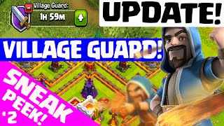 getlinkyoutube.com-Clash of Clans UPDATE ♦ NEW VILLAGE GUARD! ♦ Update Sneak Peek #2! ♦ CoC ♦