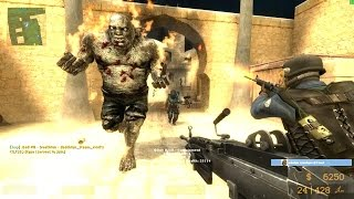 getlinkyoutube.com-Counter Strike Source - Zombie mod Zombie Boss fight - Multiplayer Gameplay Walkthrough on Dust map