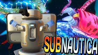 getlinkyoutube.com-Subnautica - Serpent Frenzy! Water Filtrator! - Updates Gameplay