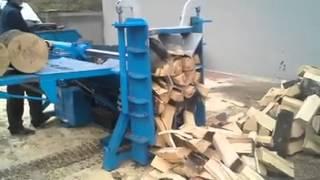 Шикарный способ колоть дрова