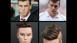 getlinkyoutube.com-Gareth Bale Inspired Haircut Tutorial - TheSalonGuy