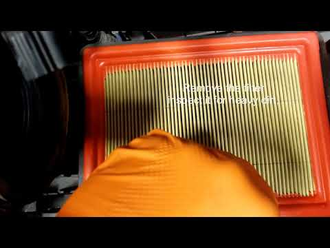 Transit Connect Air filter R&R Video.