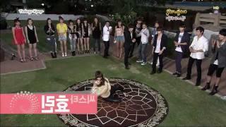 getlinkyoutube.com-Idol Sexy Dance - SJ(Donghae), SISTAR(HYORIN), 2pm(Nichkhun,Chansung), SECRET(Sunhaw)