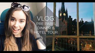 getlinkyoutube.com-VLOG: Pre Paris Dinner & Hotel Tour | Hello October