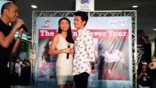 getlinkyoutube.com-The JaDine Nose Kiss - #JaDineDasmaInvasion