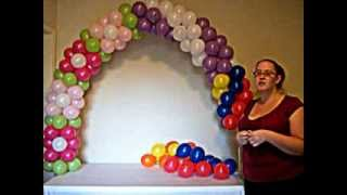 getlinkyoutube.com-How to Make a Balloon Arch