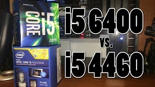 getlinkyoutube.com-Skylake vs. Haswell: i5 6400 vs. i5 4460