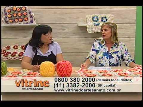 Tapete Barroco com Cristina Luriko - Vitrine do Artesanato na TV