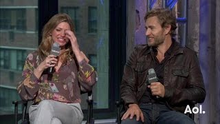 "getlinkyoutube.com-Jes Macallan and Brett Tucker Discuss ""Mistresses"""