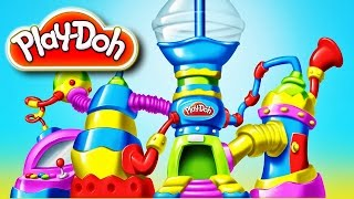 Play Doh picnic ice cream playset and disney play dough toys by supercool4kids