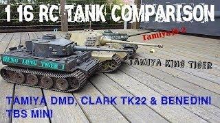 getlinkyoutube.com-Tamiya & Heng Long 1/16 RC Tanks Sound Off Comparison HD