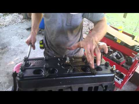 How to torque down head gasket on F162 and F163