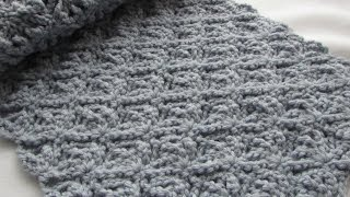 getlinkyoutube.com-EASY crochet pretty lace scarf tutorial - part 2