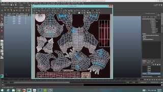 UV Mapping 101 in Maya 2014 Part 1