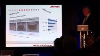 Mimaki - Press Conference from Fespa Digital 2014 2/4