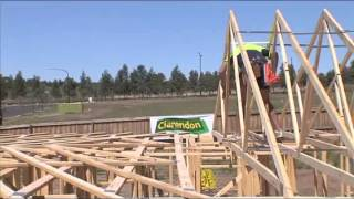 getlinkyoutube.com-Safe erection of roof trusses