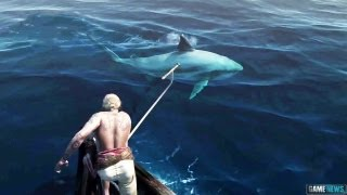 getlinkyoutube.com-PS4 - ASSASSIN'S CREED 4 Shark Attack !