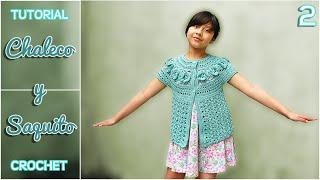 getlinkyoutube.com-Chaleco y saquito a crochet para niña, paso a paso (2 de 3)
