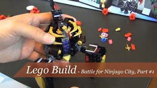 Lego Ninjago Battle For Ninjago City Part 1 Set #70728 - Unboxing And Build