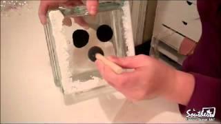getlinkyoutube.com-Outdoor Movie Element - Glass Snowman Block Craft